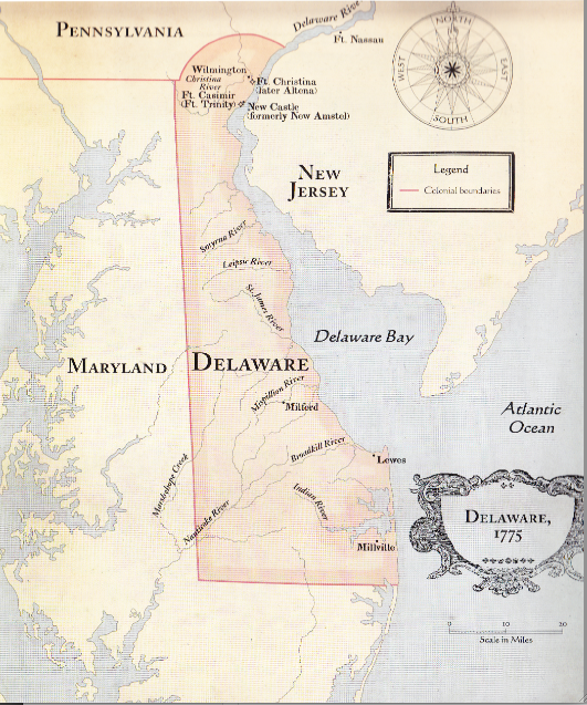 Gallery For Gt Delaware Colony Map 1638